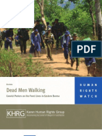 Dead Men Walking(Convict Porters on the Front Lines in Eastern Burma)