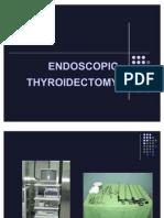 Endoscopic Thyroidectomye