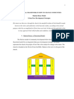 Appendix N Theoretical Framework for Changing Communities Shalom House Model