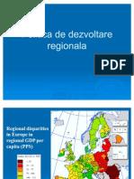 Curs 08- Politica de Dezvoltare Regionala