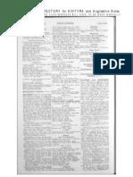 Slater's Directory - Kintyre - 1911