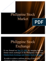 Philippine Stock Exchange Power Point