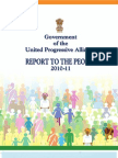 India's Prime Minister Report to the People 2010-2011