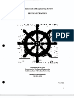 FE Fluids Review_notes and Problems113pdf   Buoyancy   Pressure