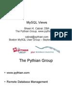 MySQL Views