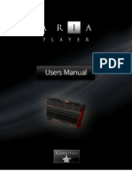 ARIA Player Manual 2010-12