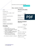 Stats Formulas Sm