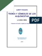 Teoria y Simbolos de Los Alquimistas Traduccion by ISMAEL BERROETA