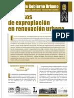 Expropiacion en Predios de Renovación Urbana
