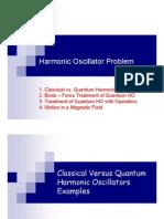 Quantum mechanics course microsoftpowerpoint-harmonicoscillator-classicalvsquantum