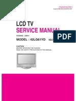 Service Manuals LG TV LCD 42LG61YD 42LG61YD Service Manual