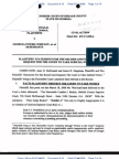 Plaintiffs' Statement For The Record and Request To Take Judcial Notice