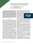 A Novel Sub Carrier Allocation Algorithm for Multiuser OFDM System With Fairness