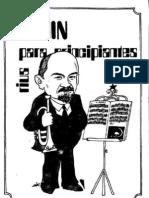 Rius - Lenin Para Principiantes