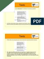 2.- HTML Texto
