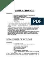 RECETAS_SATVICAS
