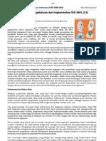 Manajemen Pengetahuan Dan Implementasi ISO 9001-Oleh Penulis LIPI