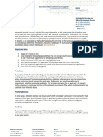 Fellowships General Information