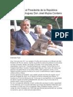 Carta abierta al Presidente de la República Oriental del Uruguay Don José Mujica Cordano