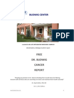 Free Budwig Cancer Report