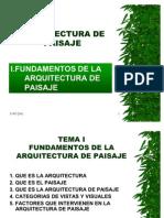 Fundamentos de La Arquitectura Del Paisaje