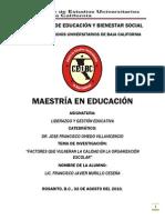 Monografia Liderazgo y Gestion Educativa