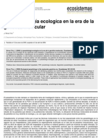 Parasitologia Molecular Ecosistemas
