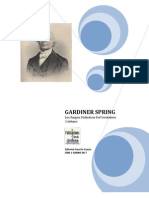 Gardiner Spring - Los Rasgos Distintivos Del Verdadero Cristiano