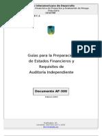 Guia Para La Preparacion de Estados Financieros y Auditoria de Proyectos BID AF100 Y AF300