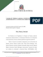 Autoridad de La Cosa Irrevocablemente Juzgada. Decision Sobre Incidente y Sobre El Fondo