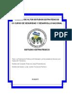 La Polarizacion Politica en El Salvador Esquema de Investigacion Estudio Estrategico PP29JUN011entrega