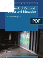Handbook of Cultural Politics and Education