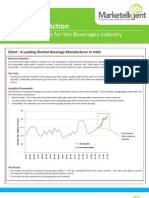Analytics in Action - How Marketelligent Helped a Leading Alcobev Manufacturer Forecast Sales