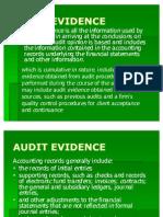 Presentation Audit Evidence