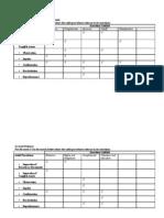 Matrix Audit Evidence vs Assertions