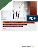 Capitalizing on Effective Communication