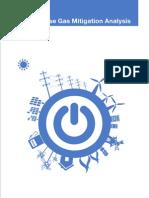 3-Greenhouse Gas Mitigation Analysis