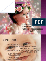 Quality control of Baby Care Products by Ashwini