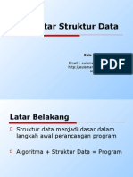 Materi 1 - Pengantar Struktur Data