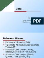 Silabi Mata Kuliah Struktur Data