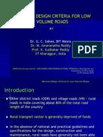 8 Rational Design Criteria for Rural Roa