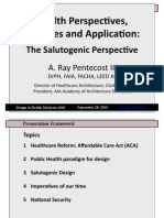 Health Perspectives-Theories & Application (Salutogenic Perspective)