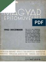 Magyar Építőművészet 1943/12.