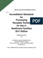 2011 HLAC Standards - Released June 15 2011