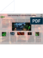 Laser technology for ultra-short laser pulses