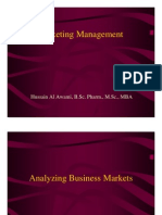 Analyzing Business Market