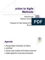 Agile Overview NZPolice