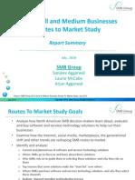Routes to Market Study