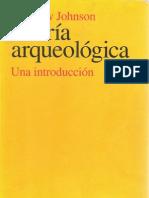 Teoría Arqueológica - Una Introducción (Matthew Johnson)