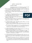 Bài tập hàm tài chính